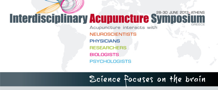 Int. Interdisciplinary Acupunture Symposium 2013